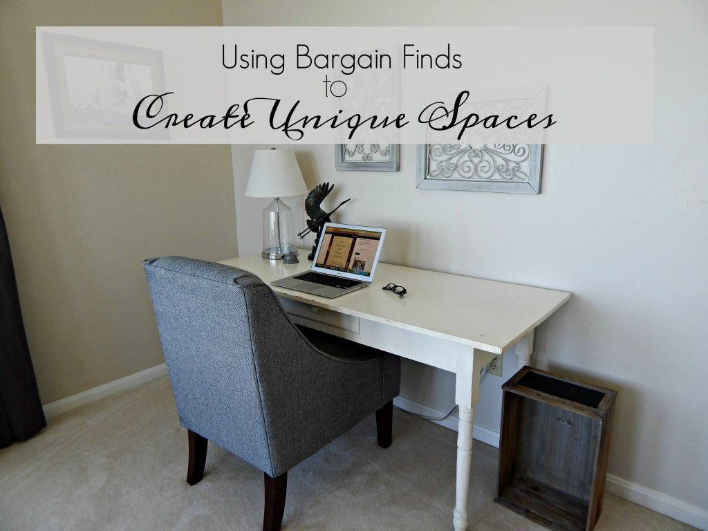 Using Bargain Finds to Create Unique Spaces