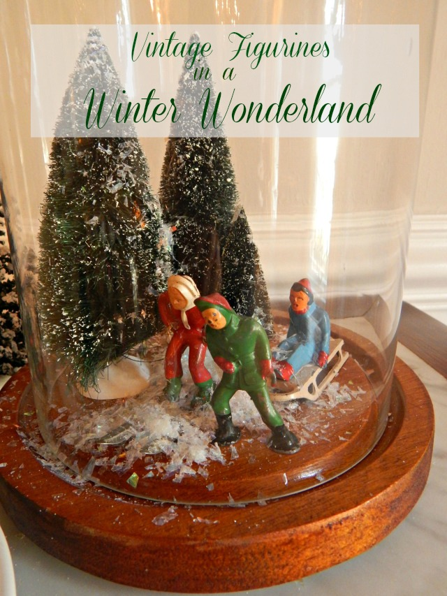 Vintage Metal Holiday Figurines
