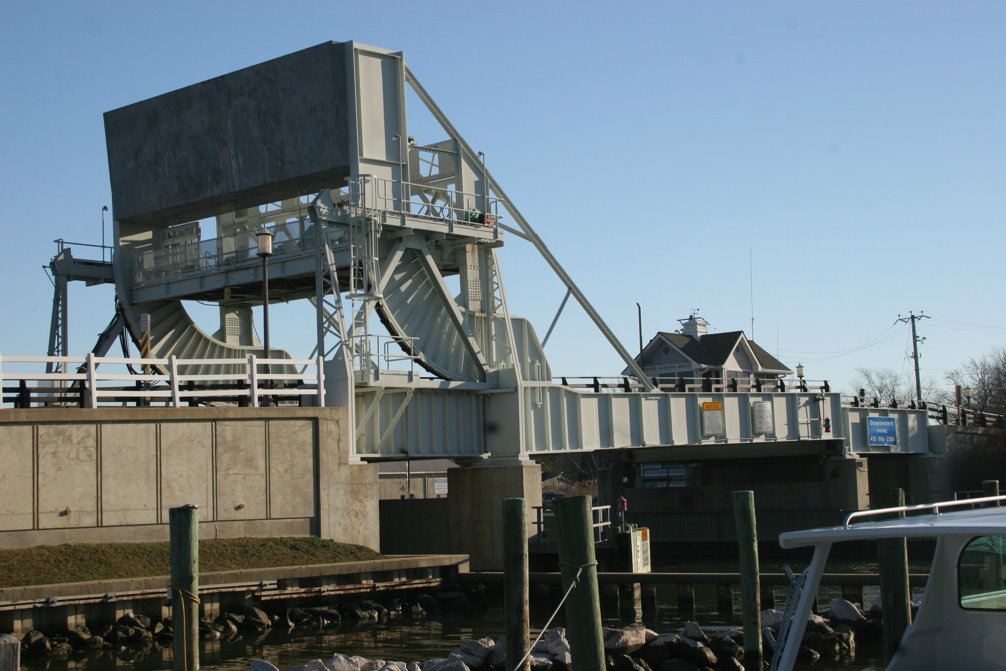 Drawbridge to the Island