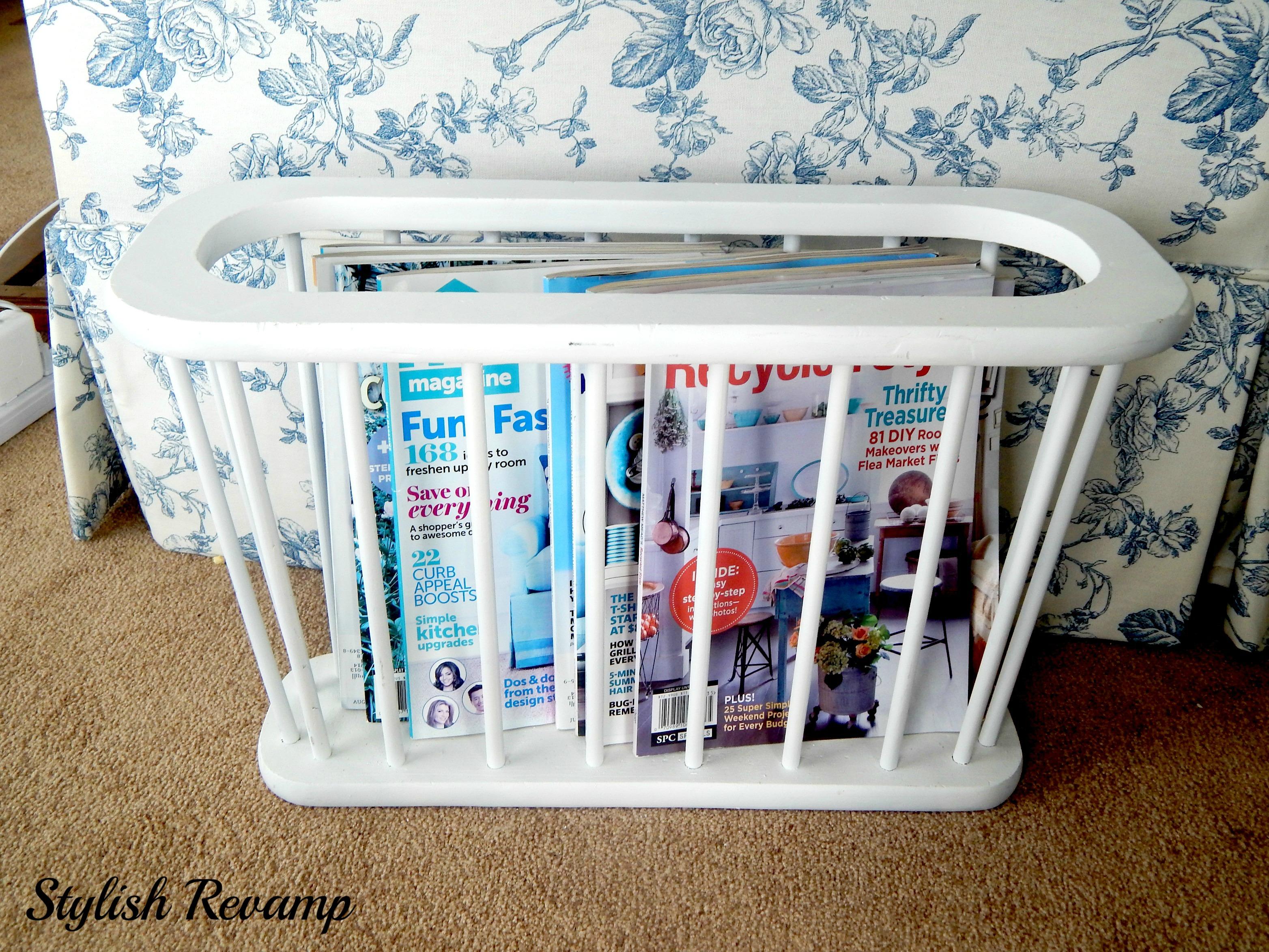 Thrift Shop Magazine HolderStand