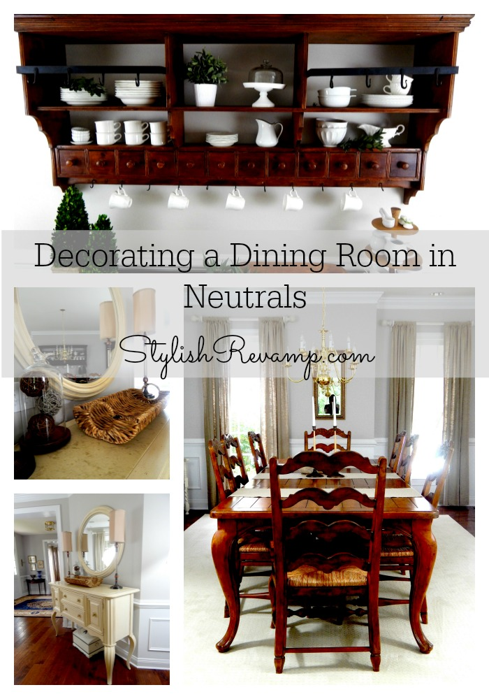 Decorating In Neutrals Collage