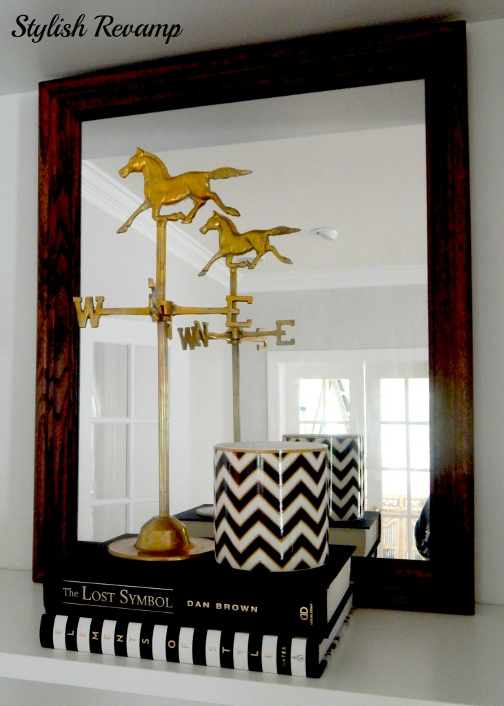 Goldbrass weather vane