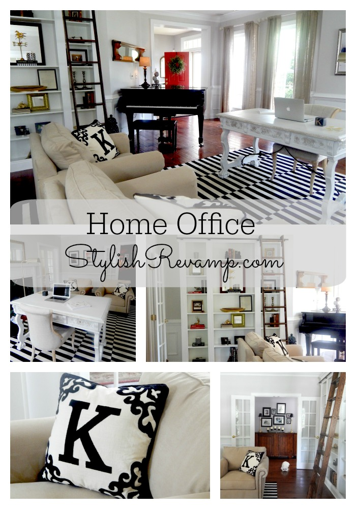 Home office how to redesign a space stylish revamp for Redesign office space