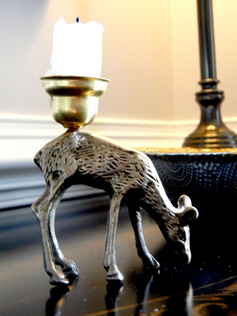 Decorative Brass CandleHolder