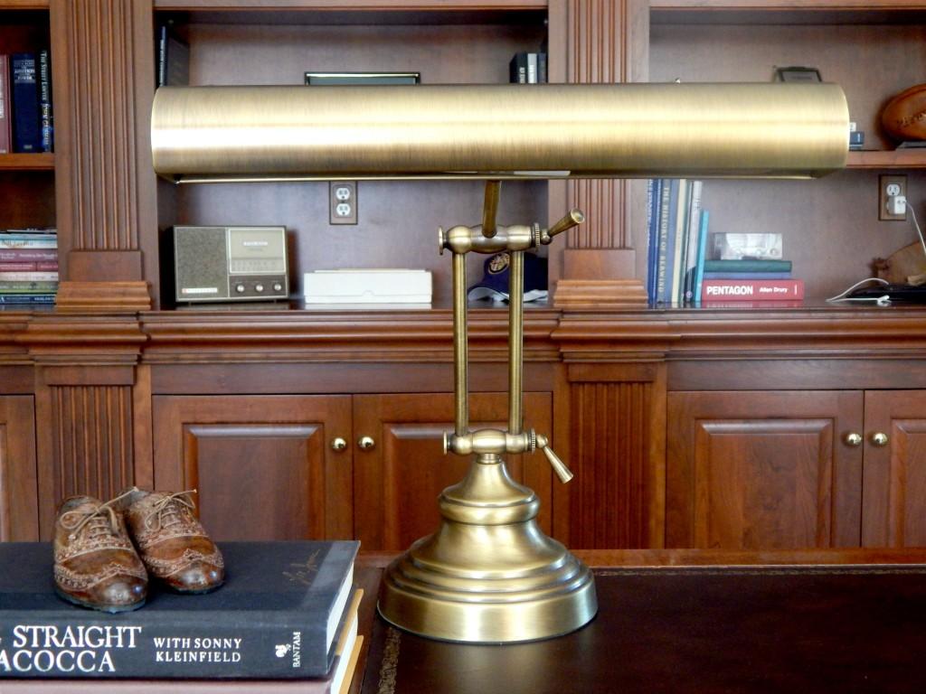 Brass Thrift Shop Desk Lamps