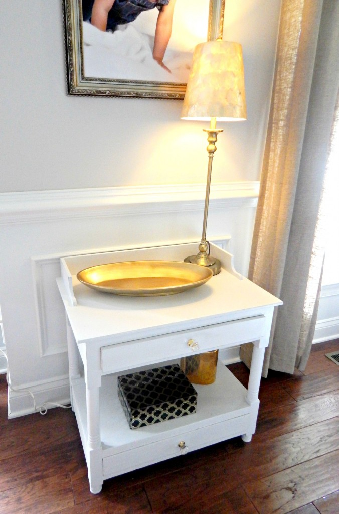 Styling a vintage wash stand