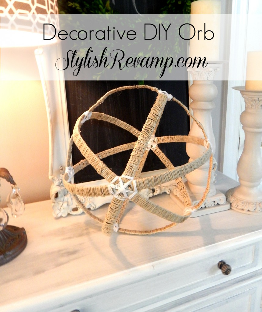DIY Decorative Orb