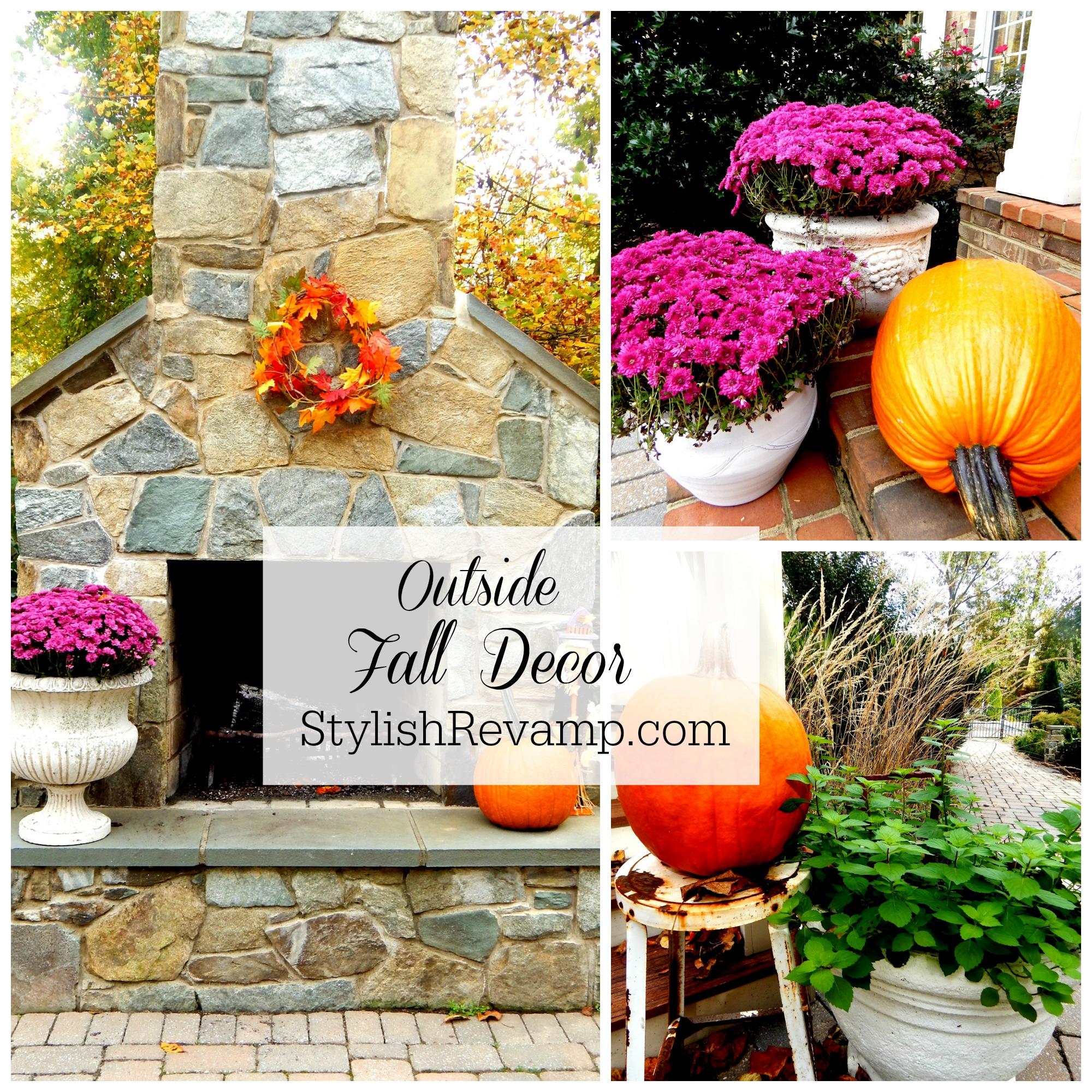 Outside Fall Decorations: Stylish Revamp