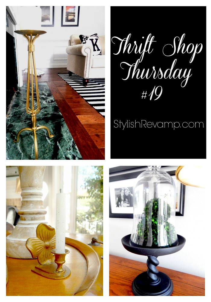 Thrift Shop Thursday #19, Sharing all my favorite thrifty finds.