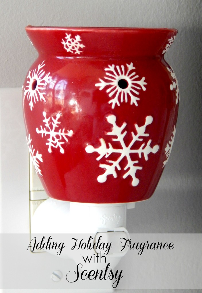 Adding Holiday Fragrance with Scentsy