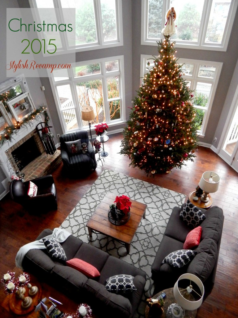Christmas 2015 Family Room
