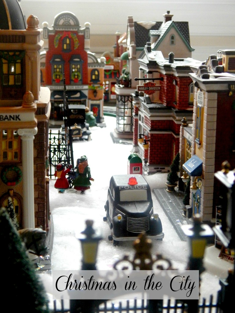 Dept. 56 Christmas in the City Police Car
