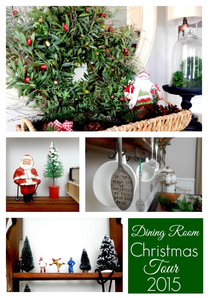 Dining Room Christmas Tour