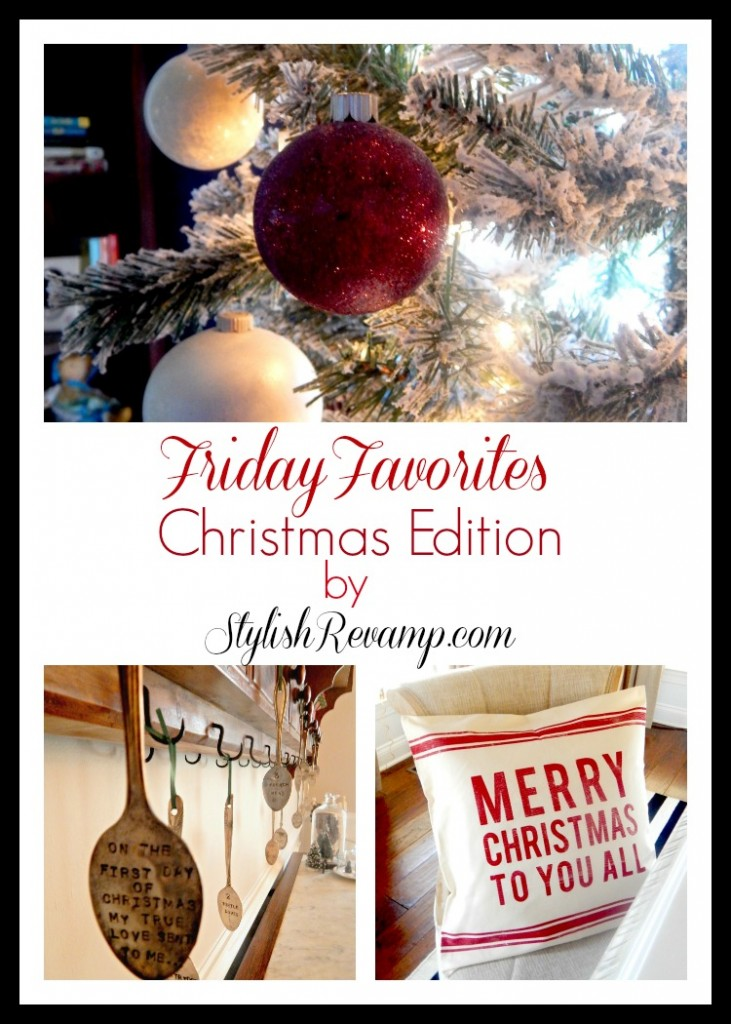 Rounding up my Favorite Christmas Items