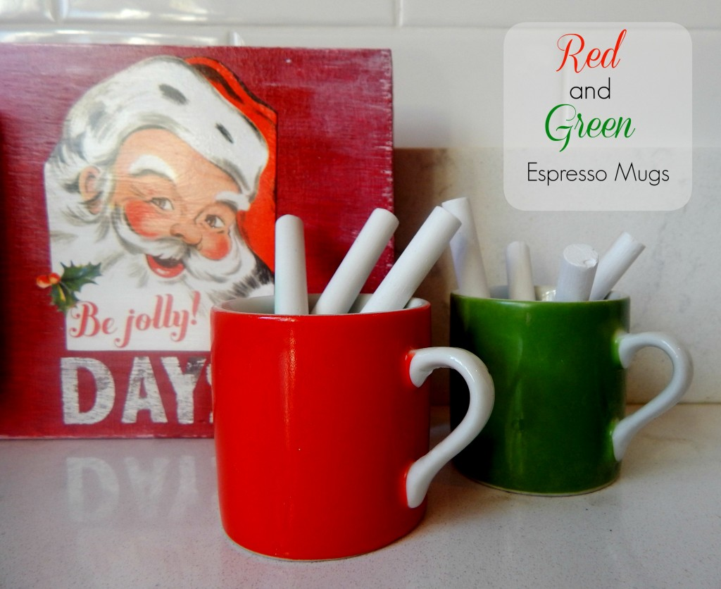 Holiday Espresso Mugs