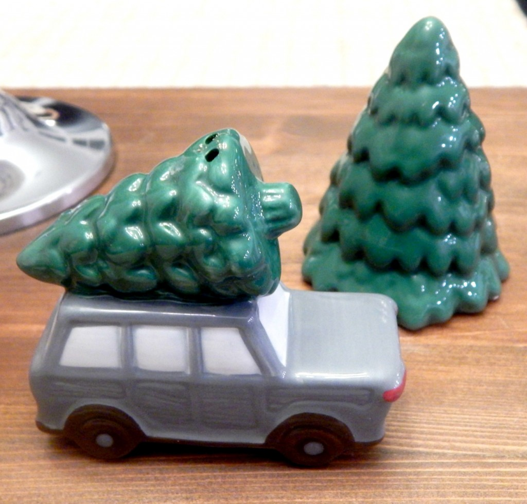 Target Holiday salt and pepper shakers