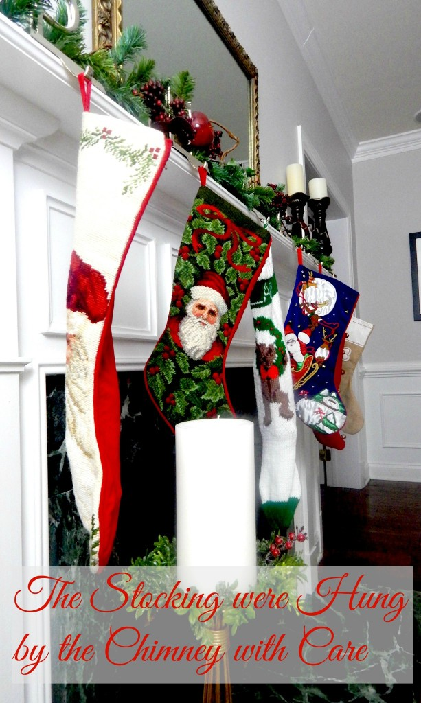 Hanging the stocking by the chimney with care