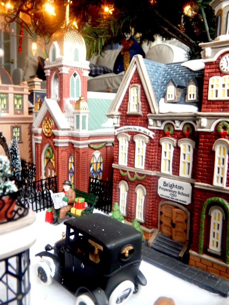 The school and Church from Dept. 56