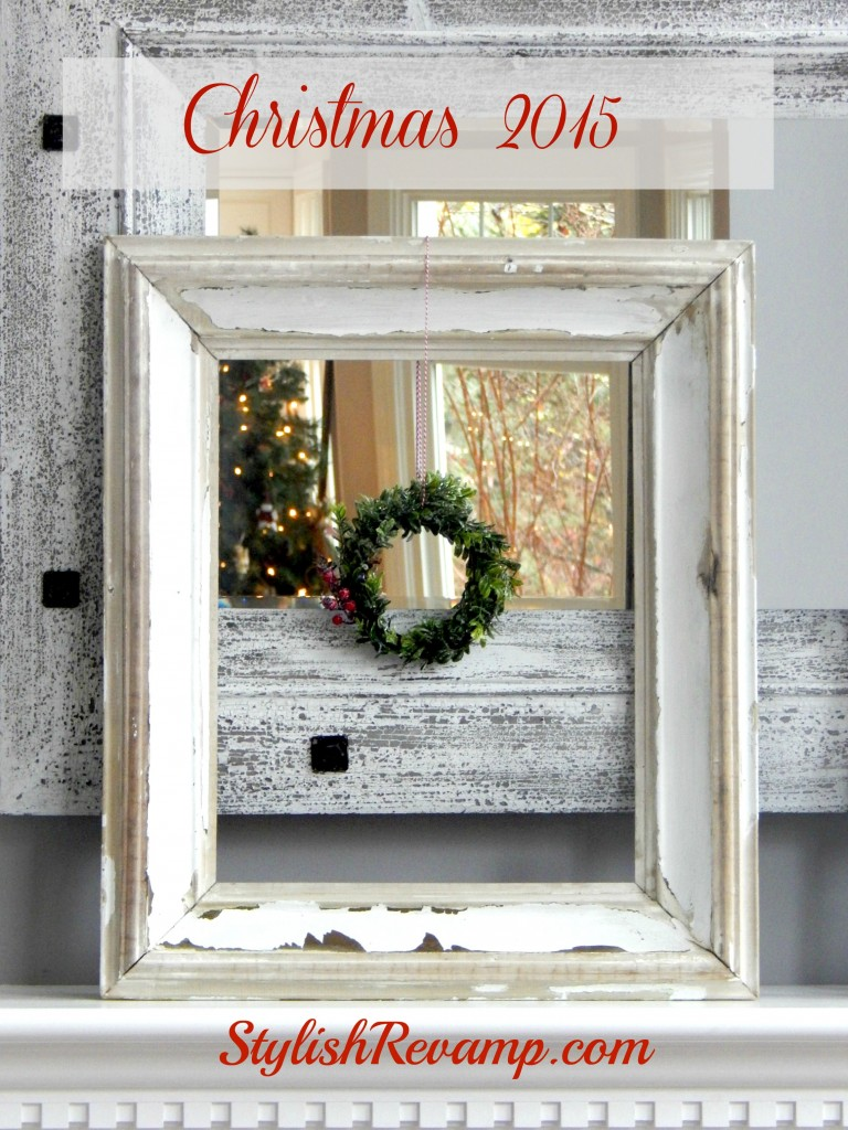 Vintage Frame with Mini Wreath copy
