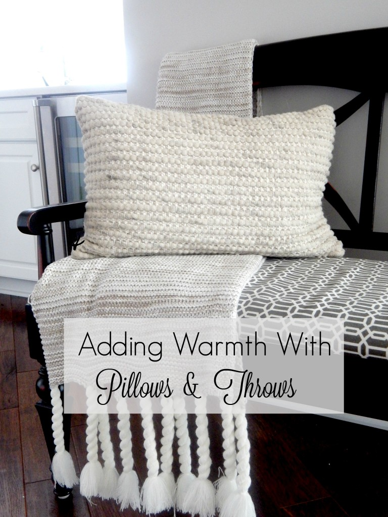 Adding Warmth with Pillows and Throws