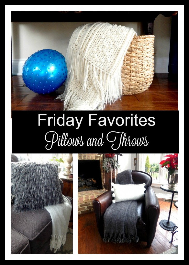 Friday Favorites Pillows and Throws
