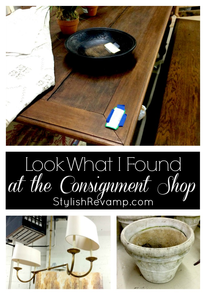 Consignment shop favorites