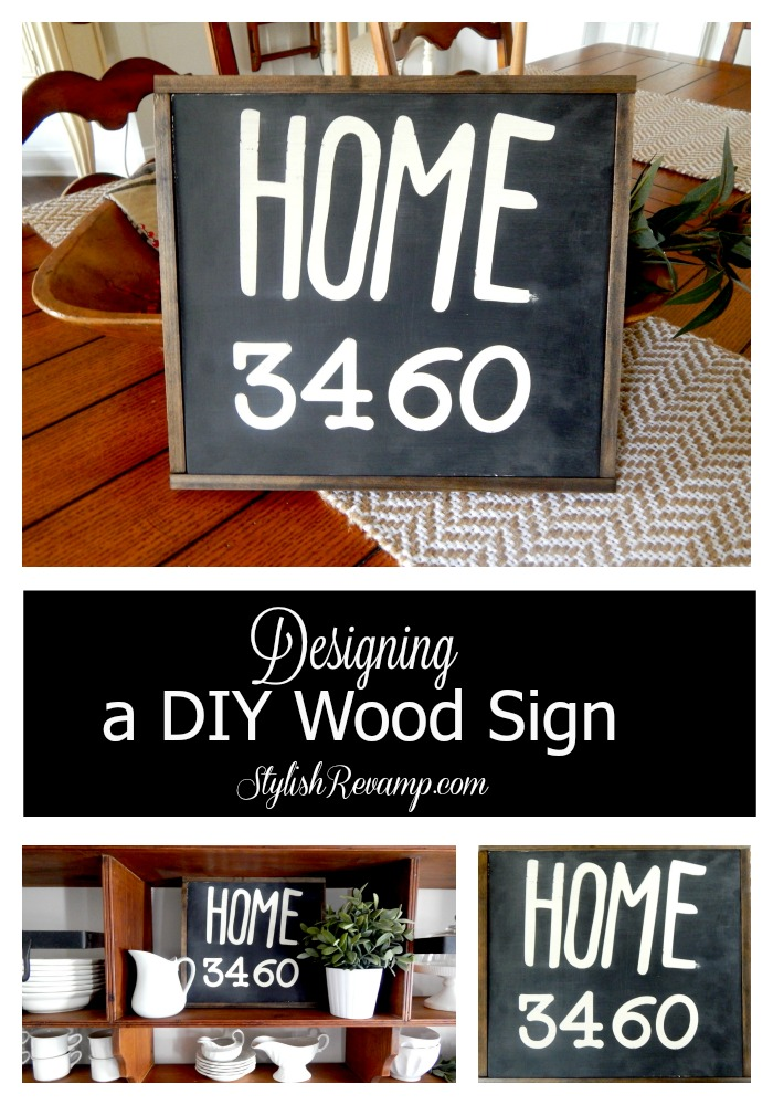 Designing a DIY Wood Sign