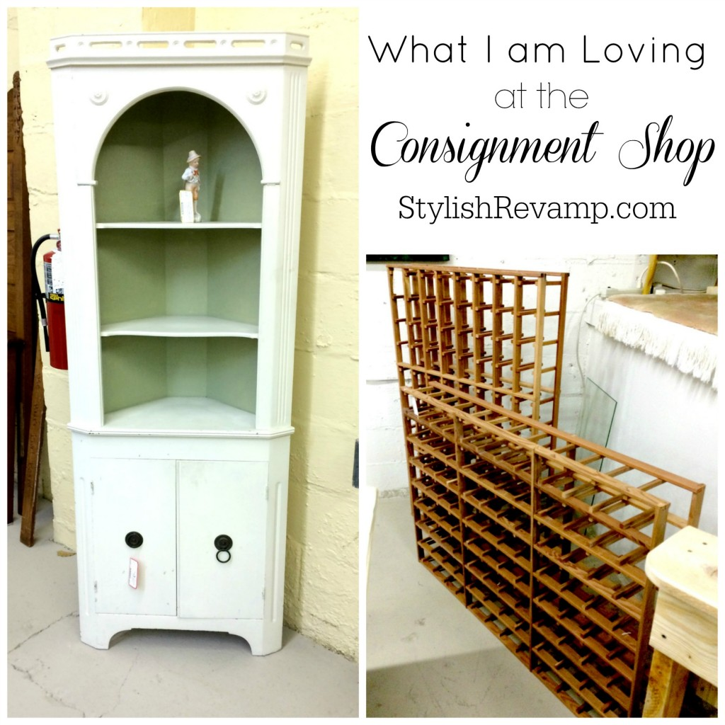 What I am loving at the Consignment Shop