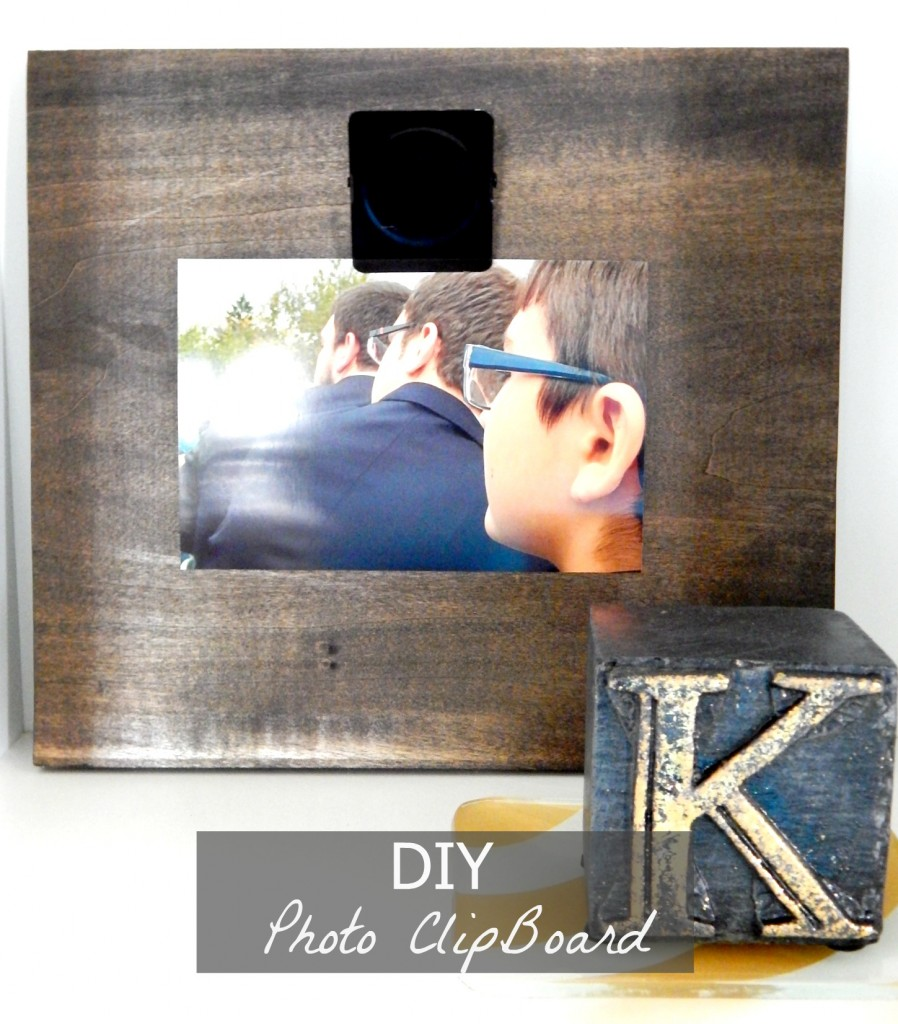 DIY Photo Clipboard