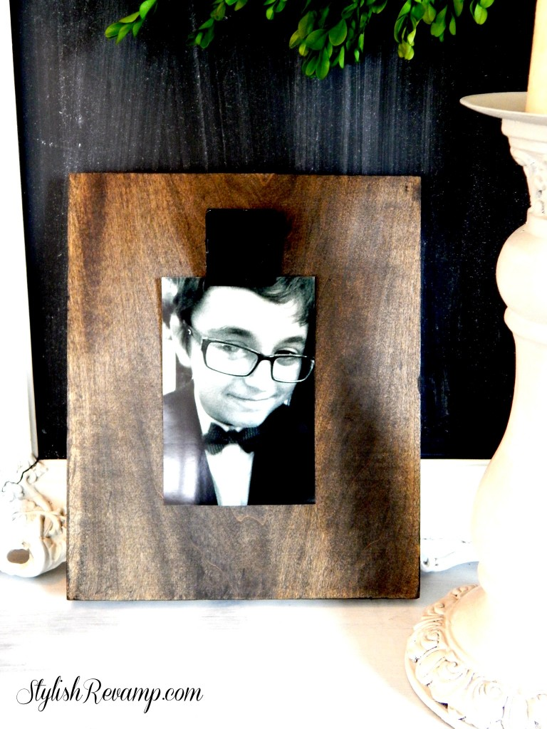 DIY Wood Photo Clip Frame