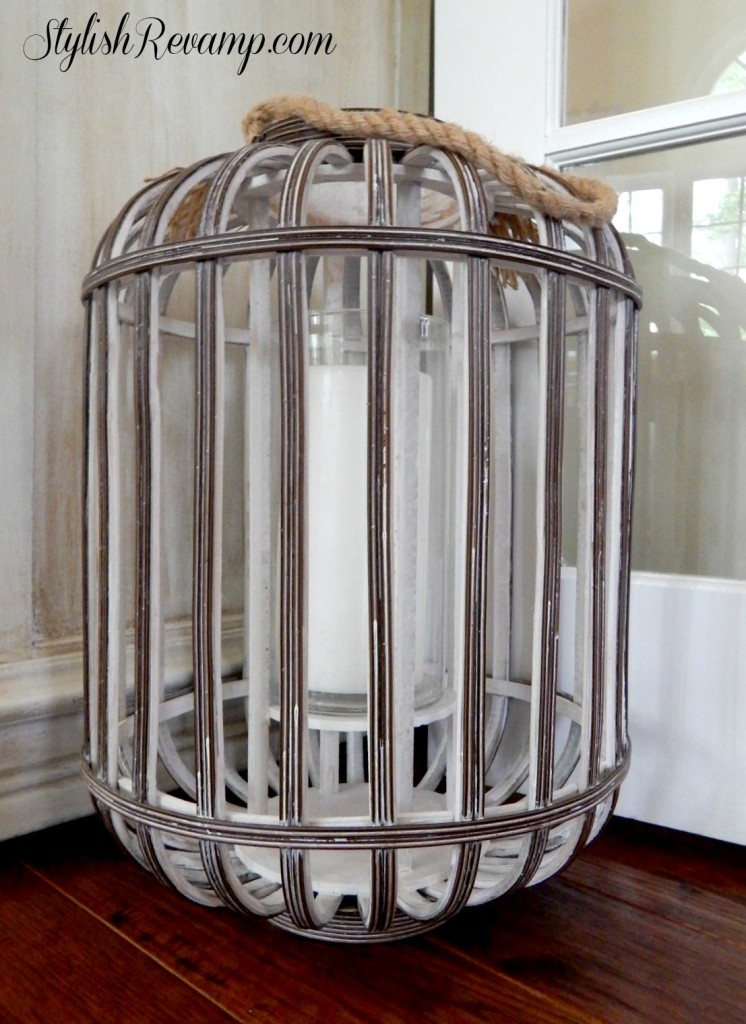 Lantern from HomeGoods