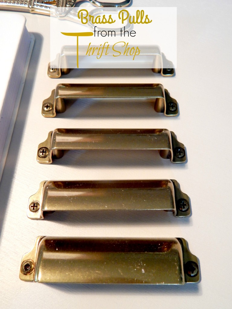 Brass Drawer Pulls