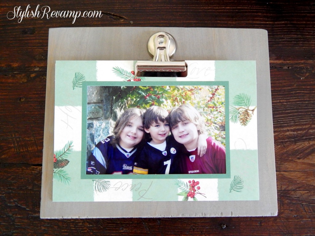 DIY Photo Clipboard