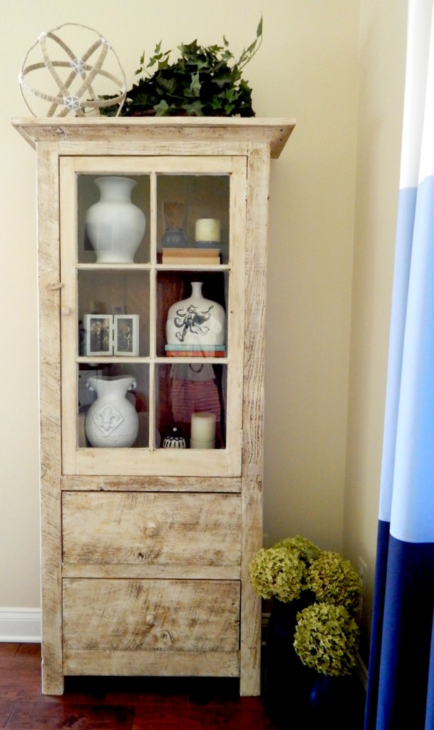 Reclaimed Wood Bookcases Styled