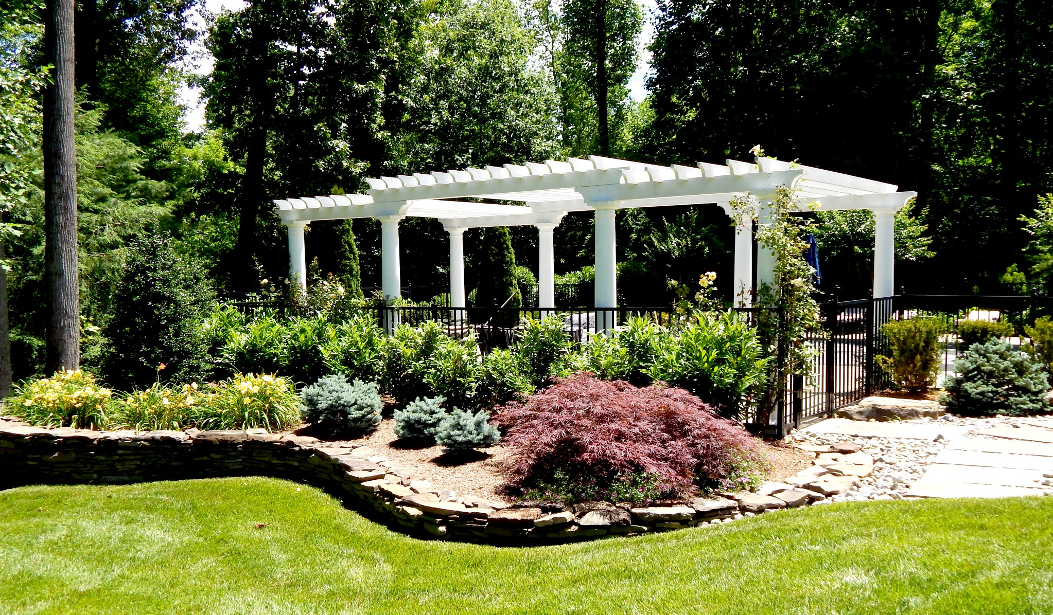 How To Start Landscaping Around House: Photo courtesy of legal ...