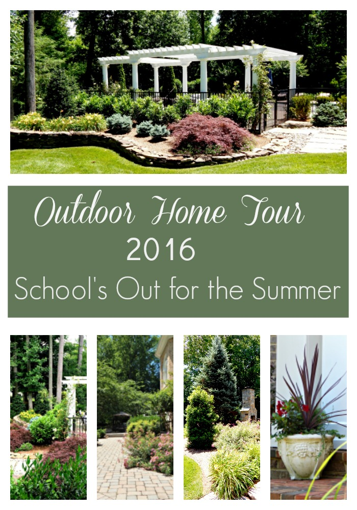 Outdoor Home Tour 2016