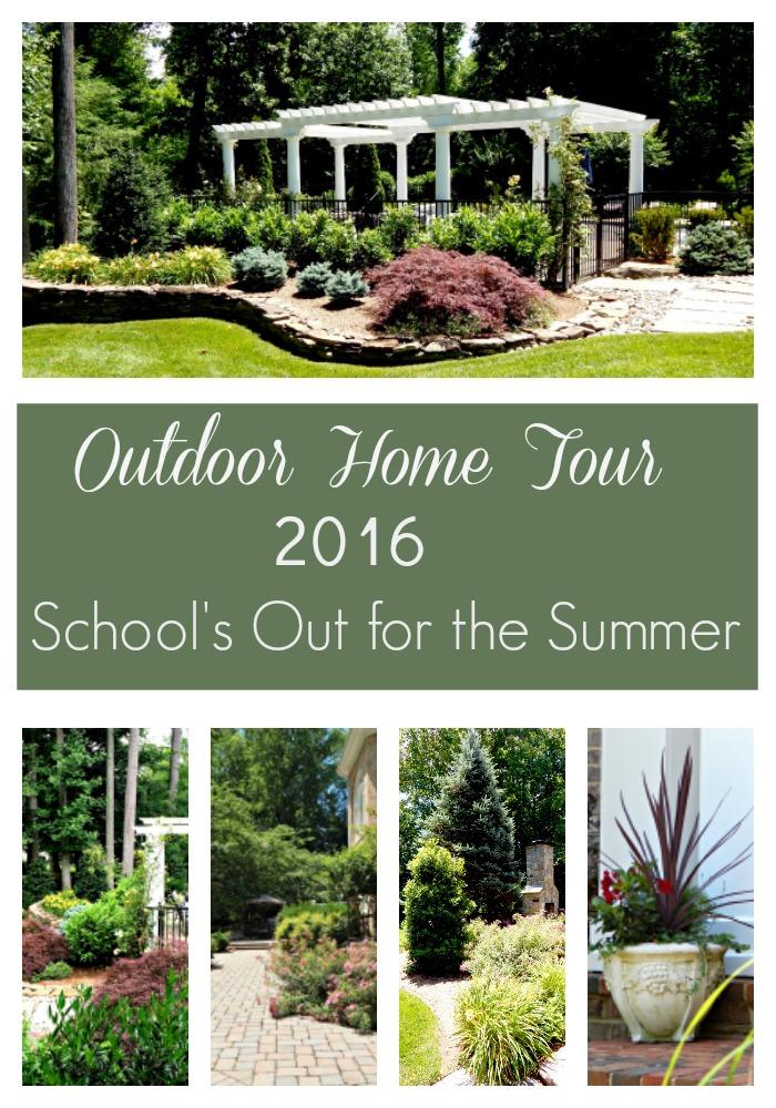 Outdoor Home Tour 2016
