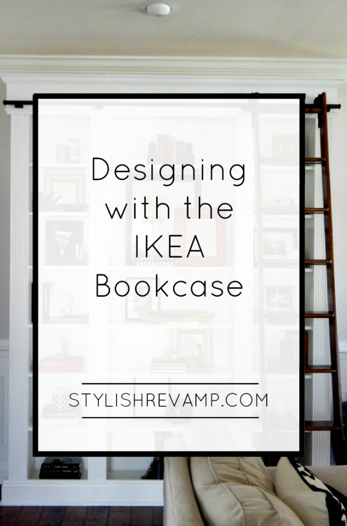 Designing with the IKEA Bookcase open up many decorating possibilities.