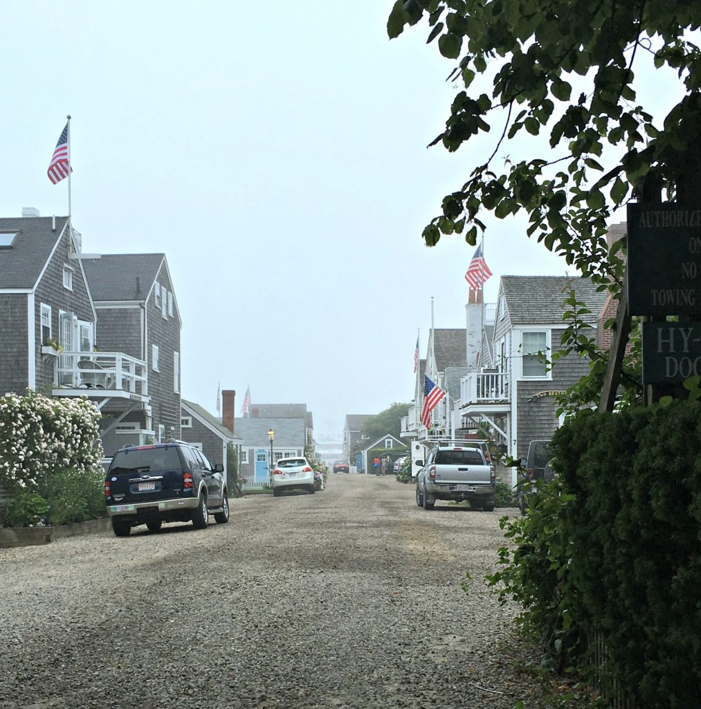 Fog Rolling in on Nantucket