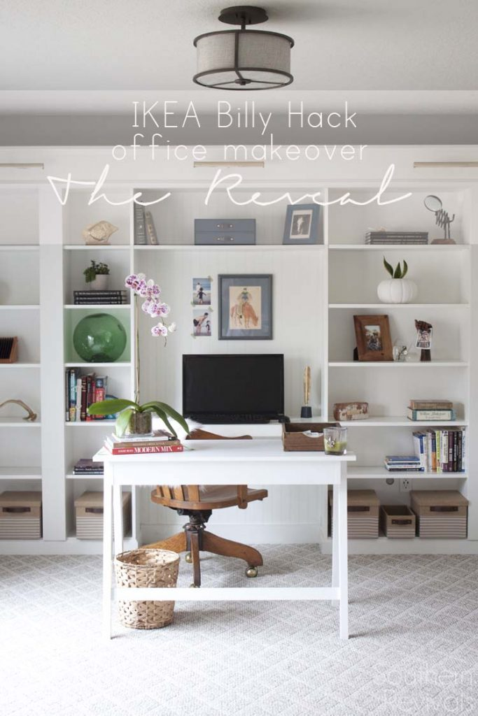 http://www.southernrevivals.com/2016/02/office-makeover-reveal-ikea-hack-built-billy-bookcases.html