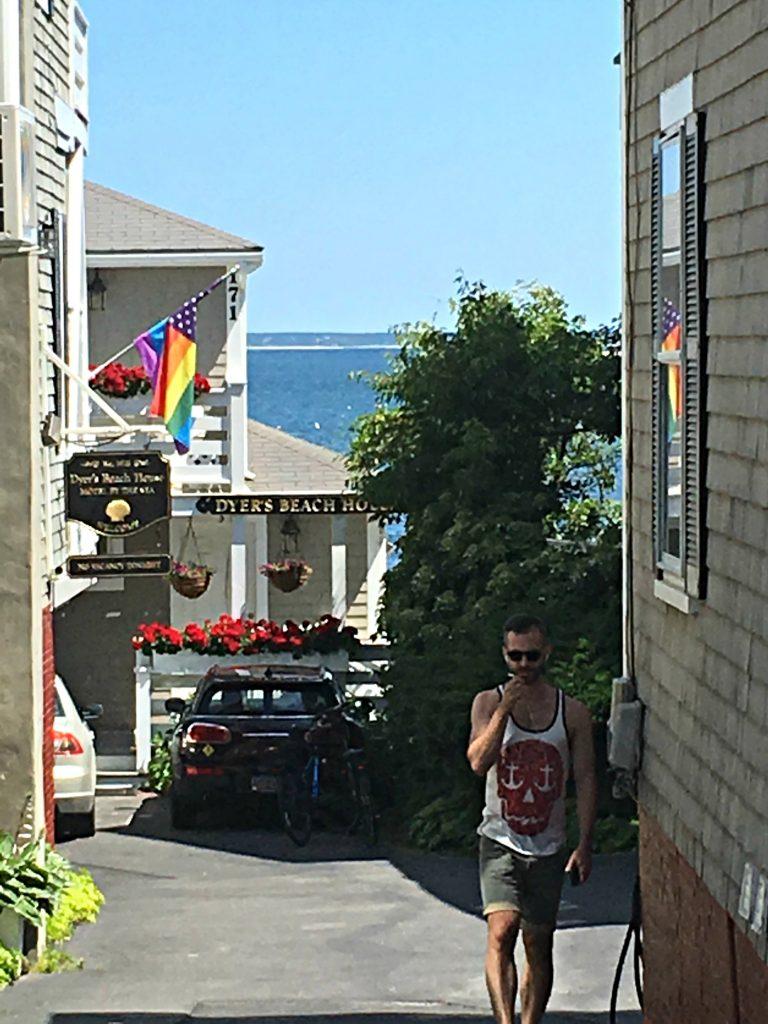 Side Street in Provincetown