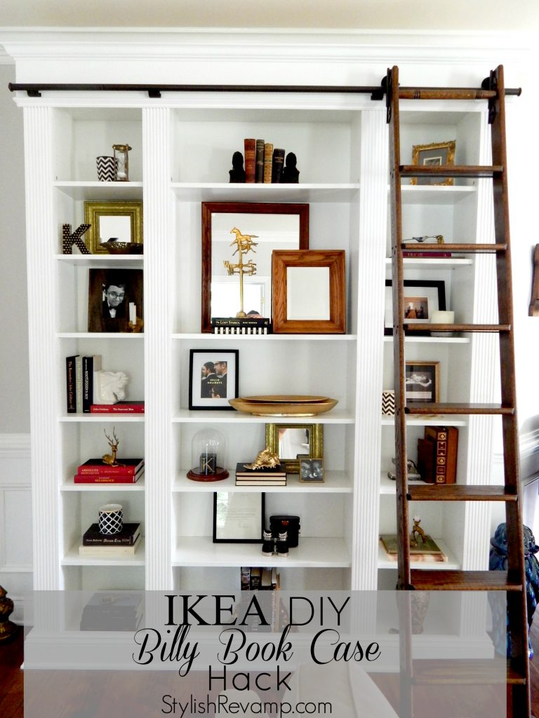 StylishRevamp's IKEA Billy Book Case Hack