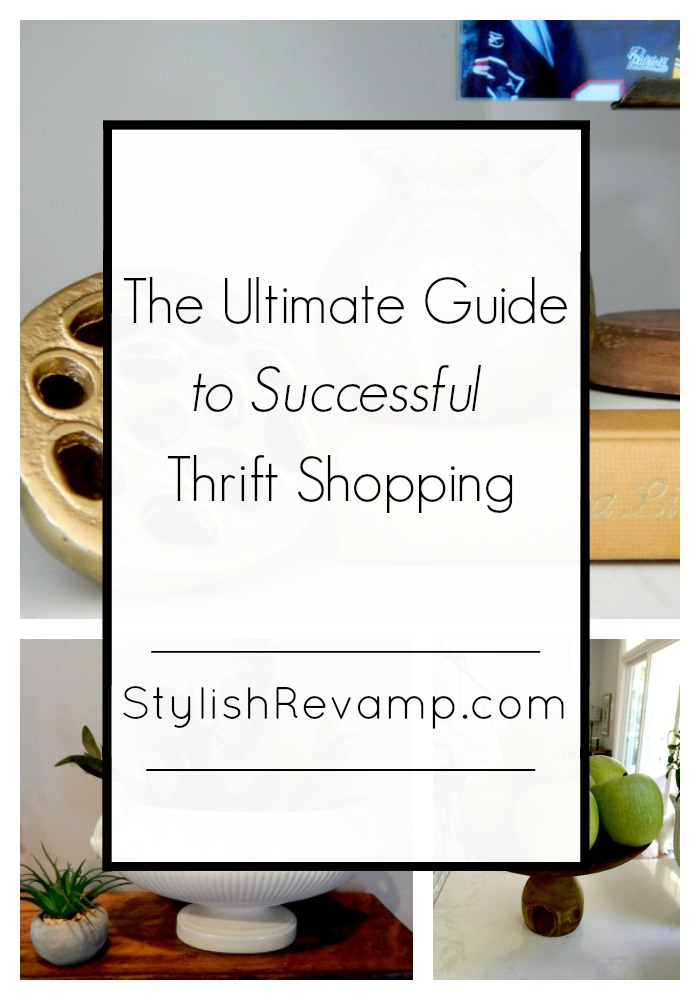 The Ultimate Guide to Successful Thrift Shopping | Want to know the best tips and tricks for thrift shopping, stop by StylishRevamp.com to check out my detailed guide to thrifting in The Ultimate Guide to Successful Thrift Shopping.