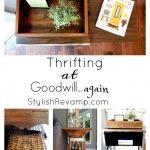 Thrifting at Goodwill…again!
