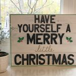 Paint Pens and Pallets – A DIY Christmas Sign