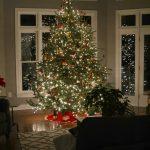 Night Time Christmas Home Tour
