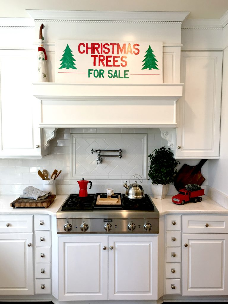 My Christmas Kitchen Home Tour