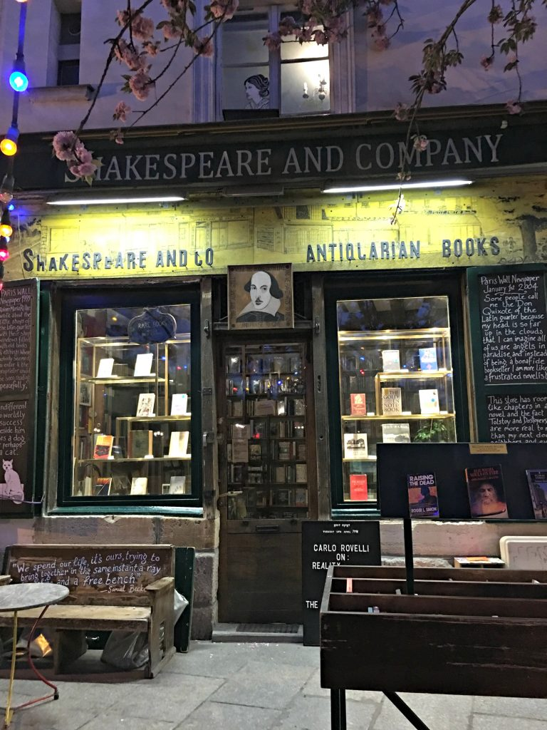 The coziest bookstore with lots of history Shakespeare and Company