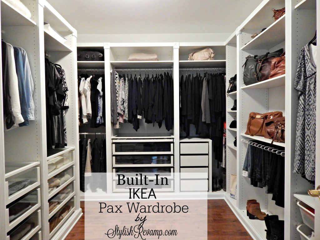 Built-in Ikea Pax Wardrobe