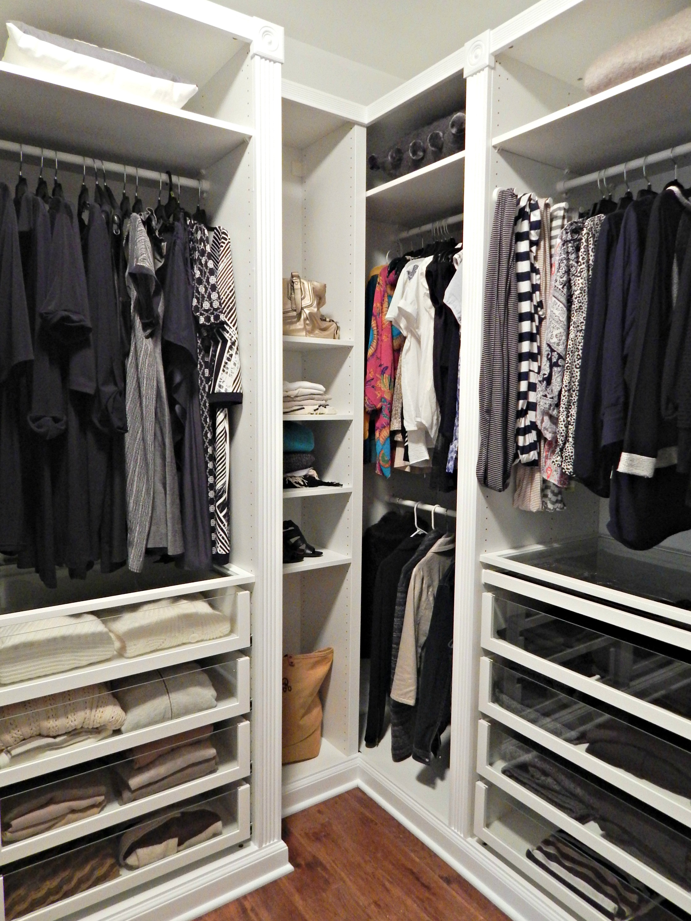 Revamping my Closet with the IKEA Pax Wardrobe